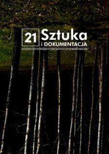 Sztuka i Dokumentacja nr 21, 2019