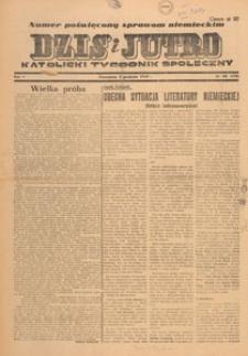 Dziś i Jutro : katolicki tygodnik społeczny, 1949.12.11 nr 49