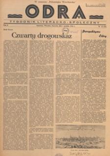 Odra : pismo literacko-społeczny, 1946.12.08 nr 43