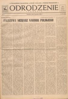 Odrodzenie : tygodnik, 1948.12.12 nr 50