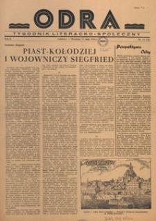 Odra : pismo literacko-społeczny, 1946.05.26 nr 15