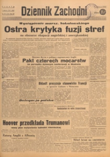 Dziennik Zachodni, 1947.03.30 nr 88