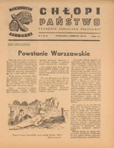 Chłopi i Państwo : tygodnik społeczno-polityczny, 1947.08.24 nr 26