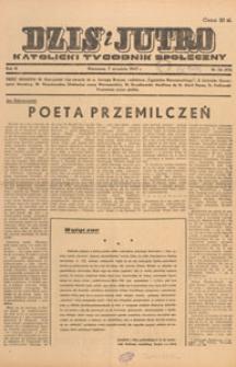 Dziś i Jutro : katolicki tygodnik społeczny, 1947.09.28 nr 39