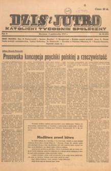 Dziś i Jutro : katolicki tygodnik społeczny, 1947.10.27 nr 43