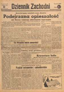 Dziennik Zachodni, 1947.04.18 nr 105