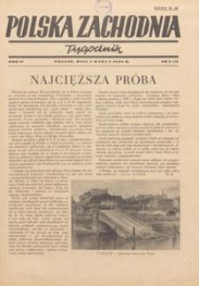 Polska Zachodnia : tygodnik : organ P.Z.Z., 1946.03.24 nr 12