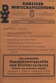 Danziger Wirtschaftszeitung, 1927.05.06 nr 18