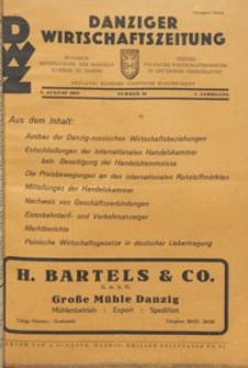 Danziger Wirtschaftszeitung, 1927.08.05 nr 31