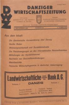 Danziger Wirtschaftszeitung, 1927.09.02 nr 35