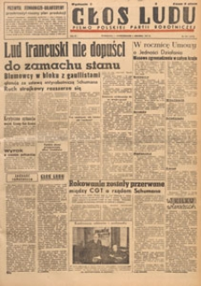 Głos Ludu : pismo codzienne Polskiej Partii Robotniczej, 1947.12.06 nr 336