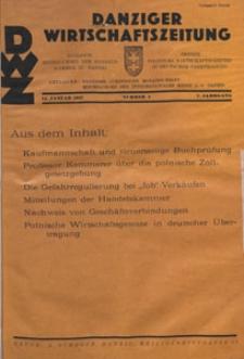 Danziger Wirtschaftszeitung, 1927.01.14 nr 2