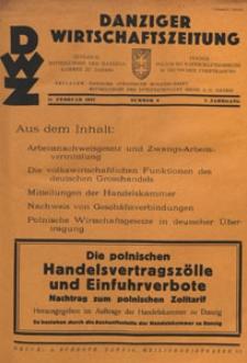 Danziger Wirtschaftszeitung, 1927.02.11 nr 6