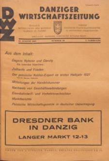 Danziger Wirtschaftszeitung, 1927.08.12 nr 32