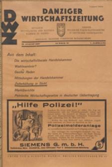Danziger Wirtschaftszeitung, 1927.08.19 nr 33