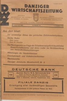 Danziger Wirtschaftszeitung, 1927.08.26 nr 34