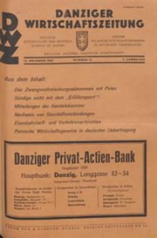 Danziger Wirtschaftszeitung, 1927.10.14 nr 41