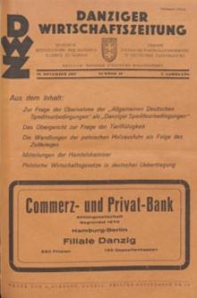 Danziger Wirtschaftszeitung, 1927.11.18 nr 46