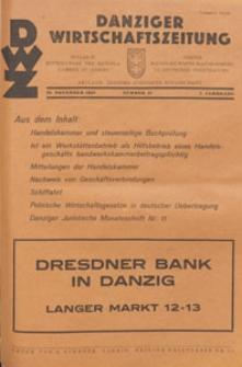 Danziger Wirtschaftszeitung, 1927.11.25 nr 47