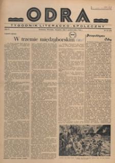 Odra : pismo literacko-społeczny, 1946.10.13 nr 35