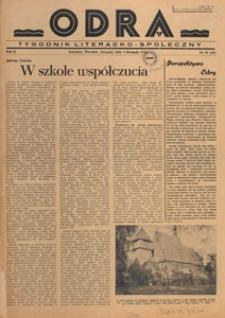 Odra : pismo literacko-społeczny, 1946.11.17 nr 40