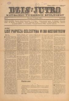 Dziś i Jutro : katolicki tygodnik społeczny, 1948.03.28-04.04 nr 13-14