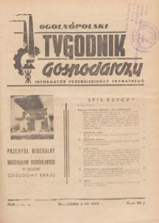 Ogólnopolski Tygodnik Gospodarczy : informator przedsiębiorcy prywatnego, 1949.07.10 nr 16