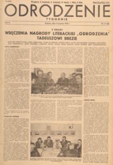 Odrodzenie : tygodnik, 1946.08.25 nr 34
