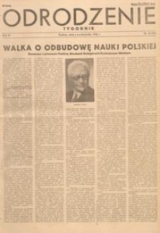Odrodzenie : tygodnik, 1946.10.27 nr 43