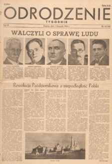 Odrodzenie : tygodnik, 1946.11.17 nr 46