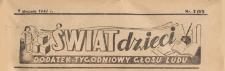 Świat Dzieci. Dodatek tygodniowy Głosu Ludu, 1946.01.07 nr 2