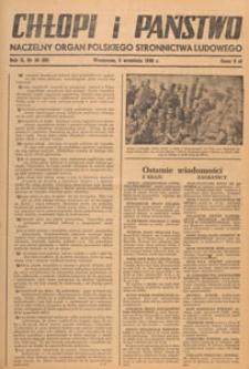 Chłopi i Państwo : tygodnik społeczno-polityczny, 1948.09.19 nr 38