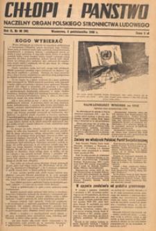Chłopi i Państwo : tygodnik społeczno-polityczny, 1948.10.31 nr 44