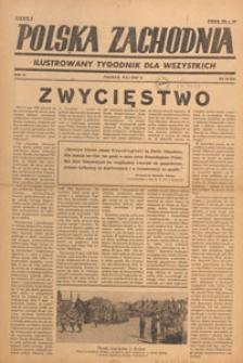 Polska Zachodnia : tygodnik : organ P.Z.Z., 1947.05 nr 19