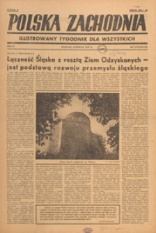 Polska Zachodnia : tygodnik : organ P.Z.Z., 1947.06 nr 24