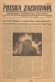 Polska Zachodnia : tygodnik : organ P.Z.Z., 1947.06 nr 25