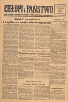 Chłopi i Państwo : tygodnik społeczno-polityczny, 1949.02.20 nr 8