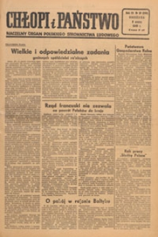 Chłopi i Państwo : tygodnik społeczno-polityczny, 1949.03.27 nr 13
