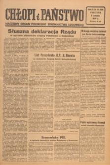 Chłopi i Państwo : tygodnik społeczno-polityczny, 1949.04.17 nr 16-17