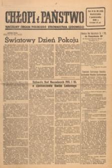 Chłopi i Państwo : tygodnik społeczno-polityczny, 1949.10.23 nr 43