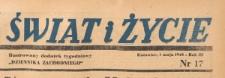 Świat i życie. Ilustrowany dodatek tygodniowy Dziennika Zachodniego, 1948.05.01 nr 17