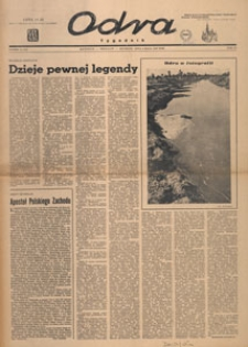 Odra : tygodnik literacko-społeczny, 1947.05.11 nr 19