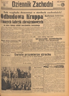 Dziennik Zachodni, 1948.11.05 nr 307