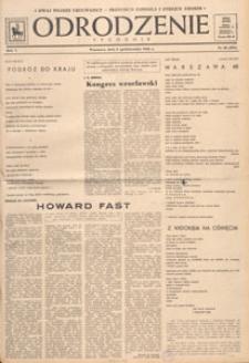 Odrodzenie : tygodnik, 1948.10.24 nr 43