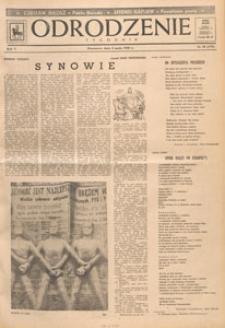 Odrodzenie : tygodnik, 1948.05.16 nr 20