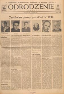 Odrodzenie : tygodnik, 1948.08.22 nr 34