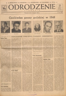 Odrodzenie : tygodnik, 1948.08.29 nr 35