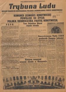 Trybuna Ludu : organ Komitetu Centralnego Polskiej Zjednoczonej Partii Robotniczej, 1948.12.23 nr 8