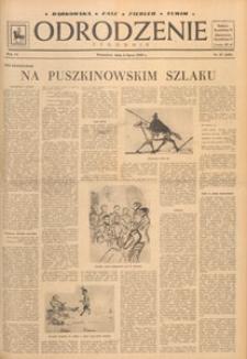 Odrodzenie : tygodnik, 1949.07.31 nr 31