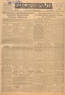 Rzeczpospolita i Dziennik Gospodarczy, 1949.11.07 nr 306